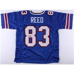 Andre Reed Signed Bills Jersey Inscribed  HOF 14  (JSA COA)