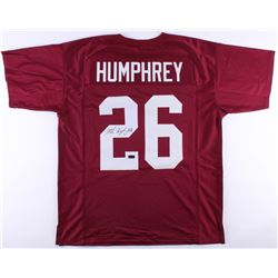 Marlon Humphrey Signed Alabama Crimson Tide Jersey (Radtke COA)