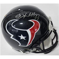J. J. Watt Signed Texans Full-Size Authentic On-Field Helmet (JSA COA)