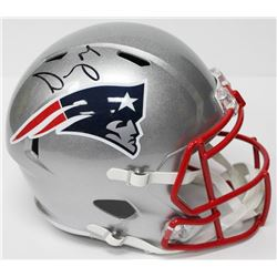 Sony Michel Signed Patriots Full-Size Speed Helmet (JSA COA)