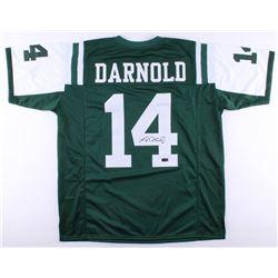 Sam Darnold Signed Jets Jersey (Radtke COA)