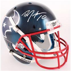 DeAndre Hopkins Signed Texans Authentic On-Field Full-Size Helmet (JSA COA)