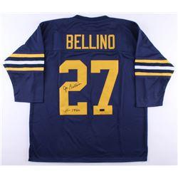 "Joe Bellino Signed Navy Midshipman Jersey Inscribed ""H-1960"" (Radtke COA)"