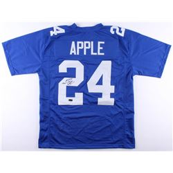 Eli Apple Signed Giants Jersey (Radtke COA)
