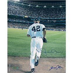 Mariano Rivera Signed Yankees 8x10 Photo (Steiner COA)