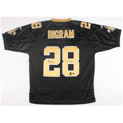 "Mark Ingram Signed Saints Jersey Inscribed ""Who Dat!"" (UDA COA  Ingram Hologram)"