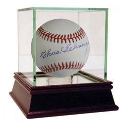 Charles Gehringer Signed OAL Baseball (JSA Hologram)