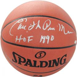 "Earl ""The Pearl"" Monroe Signed NBA Game Ball Inscribed ""HOF 1990"" (Steiner COA)"