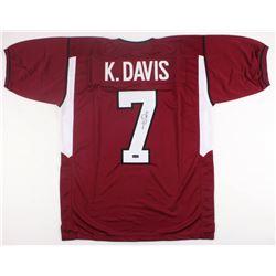Knile Davis Signed Arkansas Razorbacks Jersey (Radtke COA)