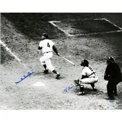 Yogi Berra  Duke Snider Signed 16x20 Photo (Steiner COA)