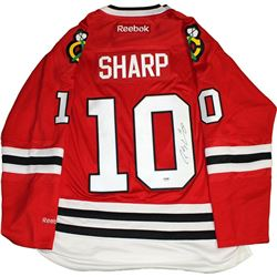 Patrick Sharp Signed Blackhawks Jersey (PSA COA)
