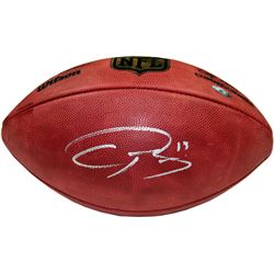 "Odell Beckham Jr. Signed ""The Duke"" Official NFL Game Ball (Steiner COA)"