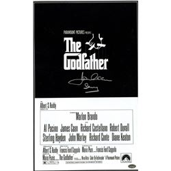 "James Caan Signed Godfather 11x17 Movie Poster Inscribed ""Sonny"" (Steiner COA)"