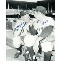 Yogi Berra  Whitey Ford Signed Yankees 16x20 Photo (Steiner COA)