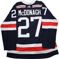 Ryan McDonagh Signed Rangers 2018 NHL Winter Classic Jersey (Steiner COA)