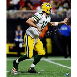 "Aaron Rodgers Signed Packers ""300th TD Pass"" 20x24 Photo (Steiner COA)"
