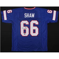 "Billy Shaw Signed Bills Jersey Inscribed ""HOF '99"" (JSA COA)"