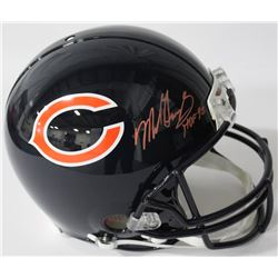 "Mike Singletary Signed Bears Authentic On-Field Full-Size Helmet Inscribed ""HOF 98"" (JSA COA)"