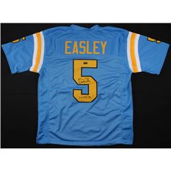 "Kenny Easley Signed UCLA Bruins Jersey Inscribed ""CF HOF '91"" (Radtke COA)"