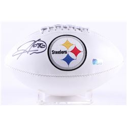 Hines Ward Signed Steelers Logo Football (Radtke COA)