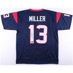 Braxton Miller Signed Texans Jersey (Radtke COA)