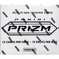 2018-19 Panini Prizm Basketball 20x Box CELLO Retail CASE 12 Packs/Box