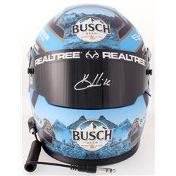 Kevin Harvick Signed 2018 NASCAR Busch Full-Size Helmet (PA COA)