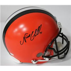 Nick Chubb Signed Browns Full-Size Authentic On-Field Helmet (JSA COA)