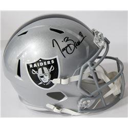 Tim Brown Signed Raiders Full-Size Speed Helmet (Beckett COA)