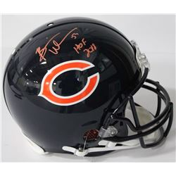 Brian Urlacher Signed Bears Authentic On-Field Full-Size Helmet Inscribed  HOF 2018  (JSA COA)
