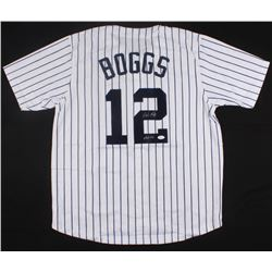 Wade Boggs Signed Yankees Jersey Inscribed  HOF 05  (JSA COA)