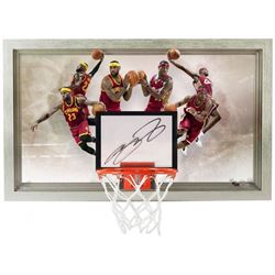 "LeBron James Signed ""Deja Vu"" 18.5x30.5 Limited Edition Backboard (UDA COA)"