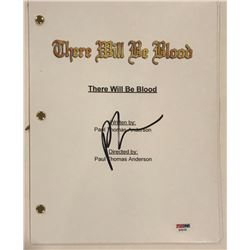 """Paul Thomas Anderson Signed """"There Will Be Blood"""" Full Movie Script (PSA COA)"""