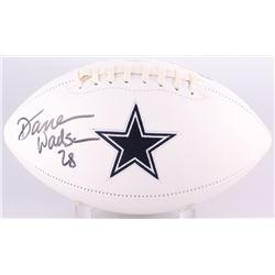 Darren Woodson Signed Cowboys Logo Football (Radtke COA)