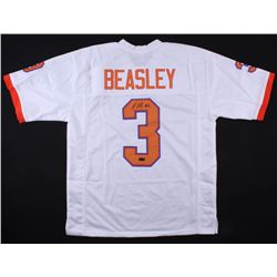 Vic Beasley Signed Clemson Tigers Jersey (Radtke COA)