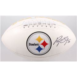 Ryan Shazier Signed Steelers Logo Football (Sports Collectibles COA)