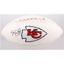 Eric Berry Signed Chiefs Logo Football (JSA COA)