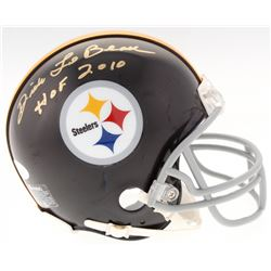 "Dick LeBeau Signed Steelers Mini-Helmet Inscribed ""HOF 2010"" (JSA COA)"