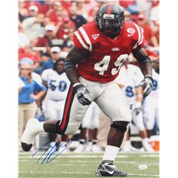 Patrick Willis Signed Ole Miss Rebels 16x20 Photo (JSA COA)
