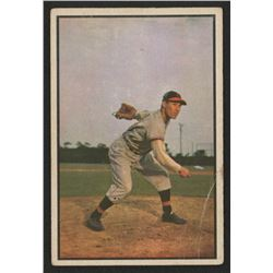 1953 Bowman Color #114 Bob Feller