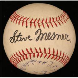 Steve Mesner Signed Baseball (JSA COA)