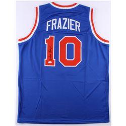 Walt Frazier Signed Knicks Jersey (JSA COA)