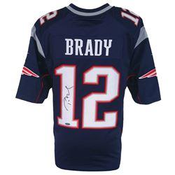 Tom Brady Signed Patriots Nike Jersey (TriStar)