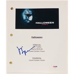 "Judy Greer Signed ""Halloween"" Full Movie Script (PSA COA)"