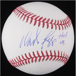 "Wade Boggs Signed OML Baseball Inscribed ""HOF 05"" (Schwartz COA)"
