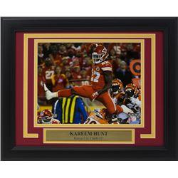 Kareem Hunt Kansas City Chiefs 11x14 Custom Framed Photo Display