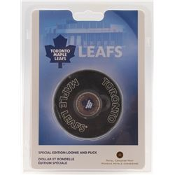 Toronto Maple Leafs Special Edition Looine and Puck
