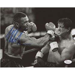 "Mike Tyson Signed ""Rocky Balboa"" 8x10 Photo (JSA Hologram)"