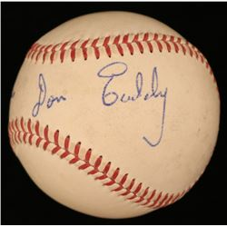 "Don Eaddy Signed ONL Baseball Inscribed ""Best Wishes"" (JSA COA)"