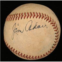 Jimmy Adair  George Susce Signed ONL Baseball (JSA COA)